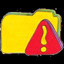 Folder, Osd, Warning, y Icon