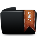 Black, Css, Folder Icon