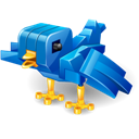 Bird, Robot, Twitter Icon