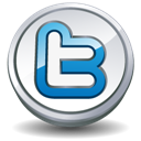 Button, Round, Twitter Icon