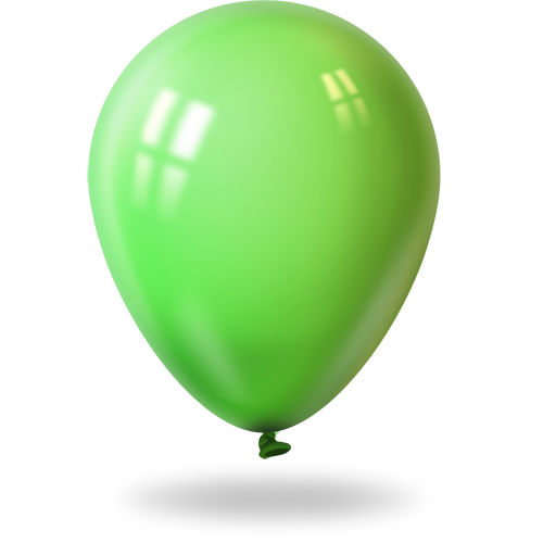 Green, Lime Icon