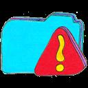 b, Folder, Osd, Warning Icon