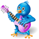 Singer, Twitter Icon