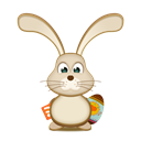 Bunny, Easter, Egg, Rss Icon