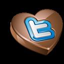 Chocolate, Twitter Icon