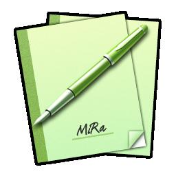Mira, Notes Icon