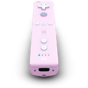 Pink, Remote, Wii Icon