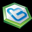 Green, Shape, Twitter Icon