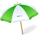 Sun, Umbrella Icon