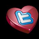 Heart, Twitter Icon