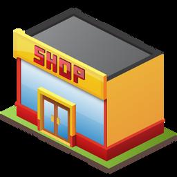 Retail, Shop Icon