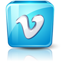 Detail, High, Vimeo Icon