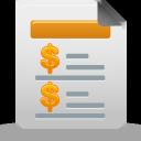 Report, Sales Icon