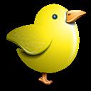 Bird, Twitter, Yellow Icon