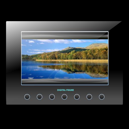Digital, Frame Icon