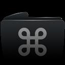 Black, Cmd, Folder Icon