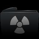Black, Burnable, Folder Icon
