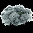 Snowy, Stone Icon