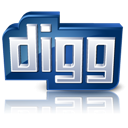 Detail, Digg, High Icon