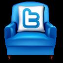 Armchair, Twitter Icon