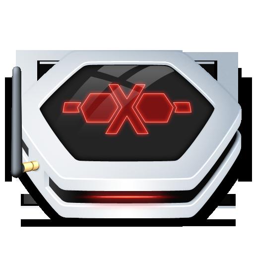 Drive, Network, Offline Icon