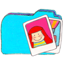 b, Folder, Osd, Photos Icon