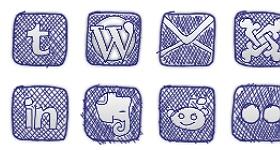 iBullz Sketchy Doodle Icons