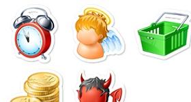 Fridge Magnets Icons