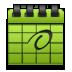 Calender, Green Icon