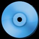 Blue, Cd, Dvd Icon