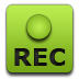 Green, Recorder Icon