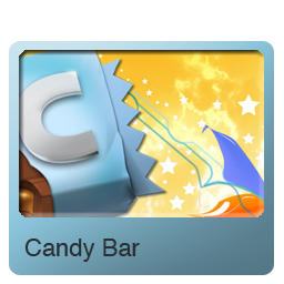 Bar, Candy Icon