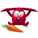Rabbit, Red Icon