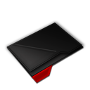 Empty, Folder, Red Icon