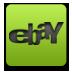 Ebay, Green Icon