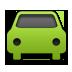Car, Green Icon