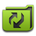 Folderorganizer, Green Icon
