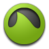 Green, Grooveshark Icon