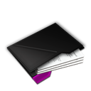 Documents, Inside, My, Purple Icon