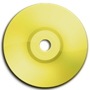 Cd, Dvd, Yellow Icon
