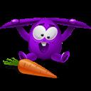 Rabbit, Violet Icon