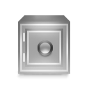 Box, Grayscale, Safety Icon
