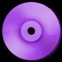 Cd, Dvd, Purple Icon