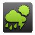Green, Wheather Icon