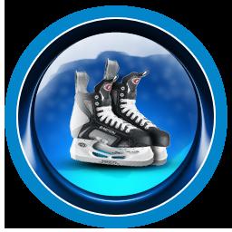 Christmas, Ice, Skates Icon