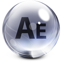 After, Effects, Glass Icon
