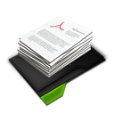 Documents, Green, My, Pile Icon