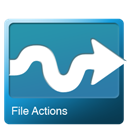 Actions, File Icon