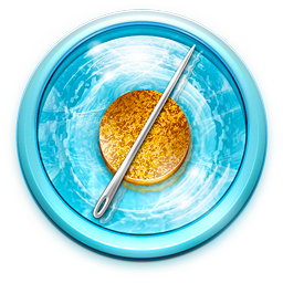 Floating, Needle, Safari Icon