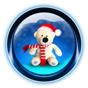 Bear, Christmas, Teddy Icon